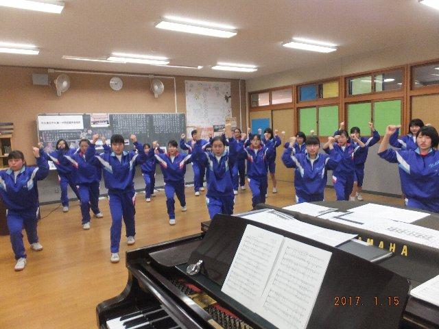 一中合唱団の練習: 奥野の郷blog